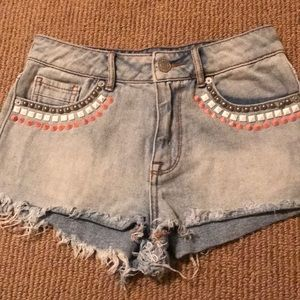 Kendall & Kylie High Rise Shorts